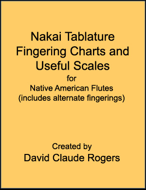 Nakai Tablature Fingering Charts and Useful Scales